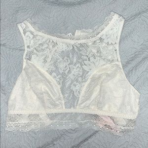 New Victoria's Secret White lace bra